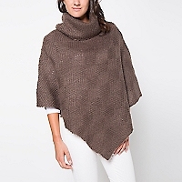 Sweater Tipo Poncho