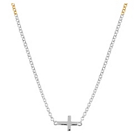Collar Cross Necklace J00653-01