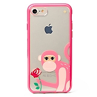 Iphone Monkey With Rose