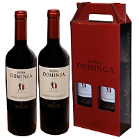 Caja De 2 Vinos Doña Dominga, Viña Casa Silva