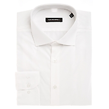 Camisa Lisa Blanca Regular