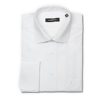 Camisa Lisa Blanca Slim Collera