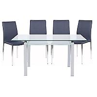 Juego de Comedor mesa Calem con 6 sillas Tiana
