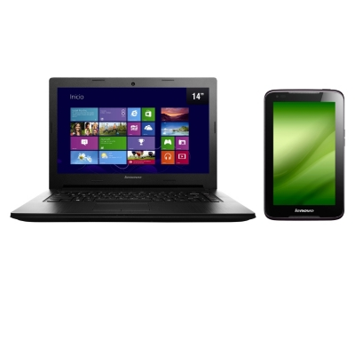 Notebook G400S  + Tablet A1000L