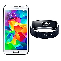 Smartphone Galaxy S5 Blanco + Gear Fit