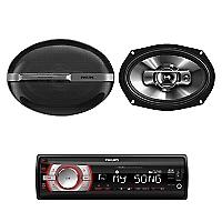 Radio CE-132 + Parlante CSP-6911