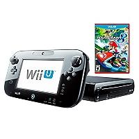 Consola Wii U Black Deluxe Set + Juego Mario Kart 8