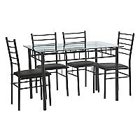 Juego de comedor Sofía 4 sillas
