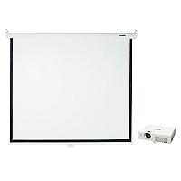 Proyector PT-LX30HU Panasonic + Telón Mural 1,52 x 1,52 mt