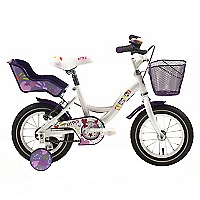 Bicicleta Aro 12 Kitty Blanco-Lila