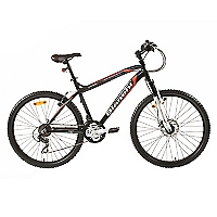 Bicicleta Aro 26 XC 7000 SX Negra Mate