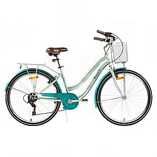 Bicicleta Aro 26 Street Lady Verde Claro