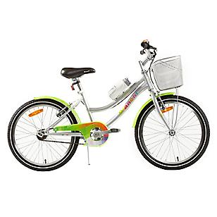 Bicicleta Aro 20 Classic Plata-Verde