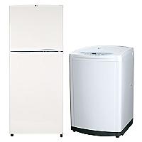 Combo Refrigerador No Frost LG 242 lt + Lavadora Automática LG 8,5 kg