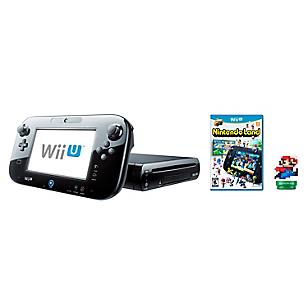 Consola Wii U Mario Kart 8 + Wii U Nintendoland + Amiibo Mario 8bit Modern
