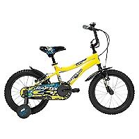 Bicicleta Aro 16 Raptor Amarilla