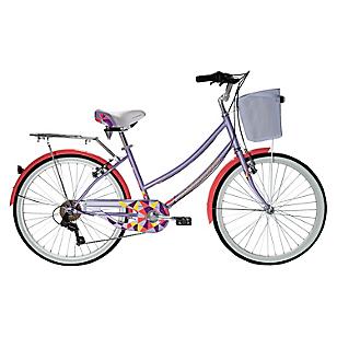 Bicicleta Aro 24 Cyclotour Lila-Rosada