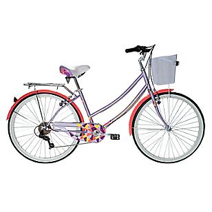 Bicicleta Aro 26 Cyclotour Lila-Coral