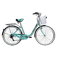 Bicicleta Aro 26 Cyclotour Verde Agua