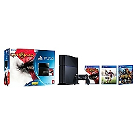 Consola PS4 500GB + God Of War III +  Fifa 2015 +Knack