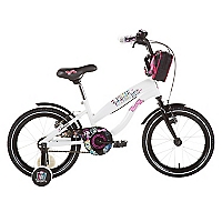 Bicicleta Aro 16 Monster High Blanca