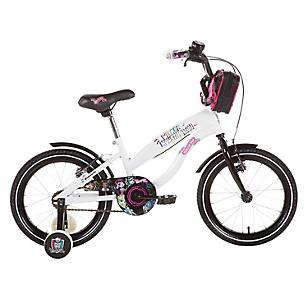 Bicicleta Aro 16 Monster High Blanca