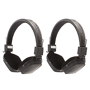 Combo 2 Audífonos con Micrófono Integrado Negro
