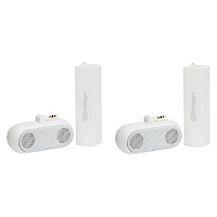 Combo 2 Bater�as Power Bank + 2 Parlantes Blancos