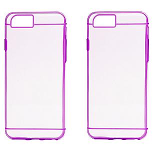 Combo 2 Carcasas iPhone 6 Púrpura
