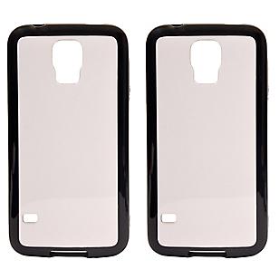 Combo 2 Carcasas Clear Galaxy S5 Mini