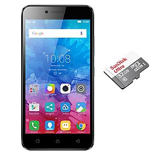 Combo Smartphone Vibe K5 Negro liberado + Sim Card Claro + Micro SD 32GB