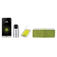 Combo Smartphone G5 SE Dorado + Cámara 360 + Parlante + Batería