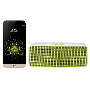 Combo Smartphone G5 SE Dorado + Parlante
