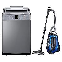Combo Lavadora Automática 13 kg + Aspiradora De Arrastre