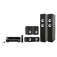Receiver Rx-V379 + Parlantes S526 Hcs3 Black