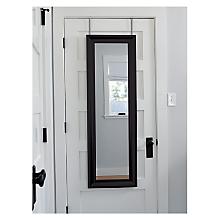 Espejo Multifuncional Negro 44x135 cm + Zapatera de Regalo