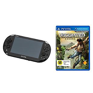 Consola Ps Vita Wifi Slim+Uncharted Golden Abbys Psv