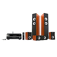 Combo Receiver Yamaha Rx-V579 + Parlante  S526 D. Apple