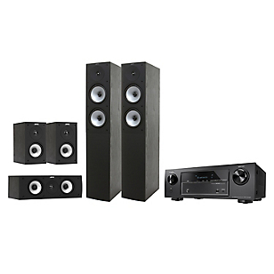 Combo Receiver Denon AVR-X520BT + Parlantes Jamo S 526  BLACK
