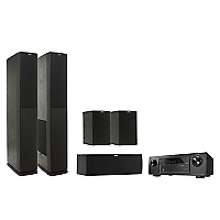 Combo Receiver Denon AVR-X520BT + Parlantes Jamo S626  Dark Apple
