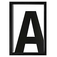 Cuadro Letra A