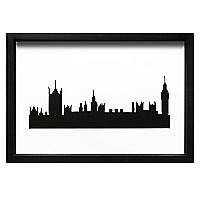 Cuadro Perfil Londres
