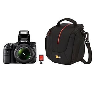 Combo Cámara SLT-A58K + Lente 18-55 + Bolso + MicroSD 16GB