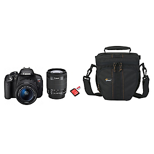 Combo Cámara Reflex EOS Rebel T5i + Lente 18-55mm + Bolso + Micro SD 32GB