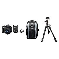 Combo C�mara Reflex EOS Rebel T5i + Lente 18-55mm + Bolso + Micro SD 64GB + Tr�pode con Cabezal de Bola