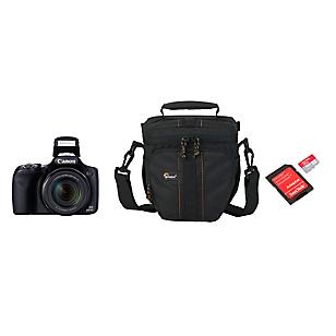 Combo Cámara Semiprofesional SX530 + Bolso + Micro SD 32GB