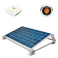 Kit Solar + Termostato + Contador de Electricidad