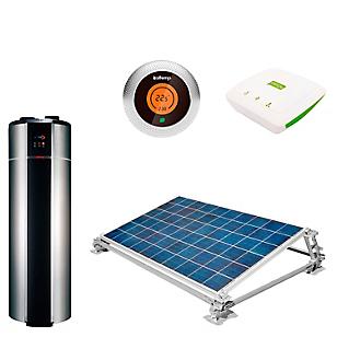 Kit Solar + Bomba + Termostato + Contador