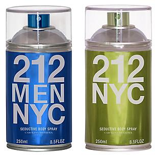 Perfume 212 NYC Vintage Body Spray 250 ML + Perfume 212 MEN NYC Vintage Body Spray 250 ML