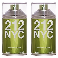 Perfume 212 NYC Vintage Body Spray 250 ML X 2